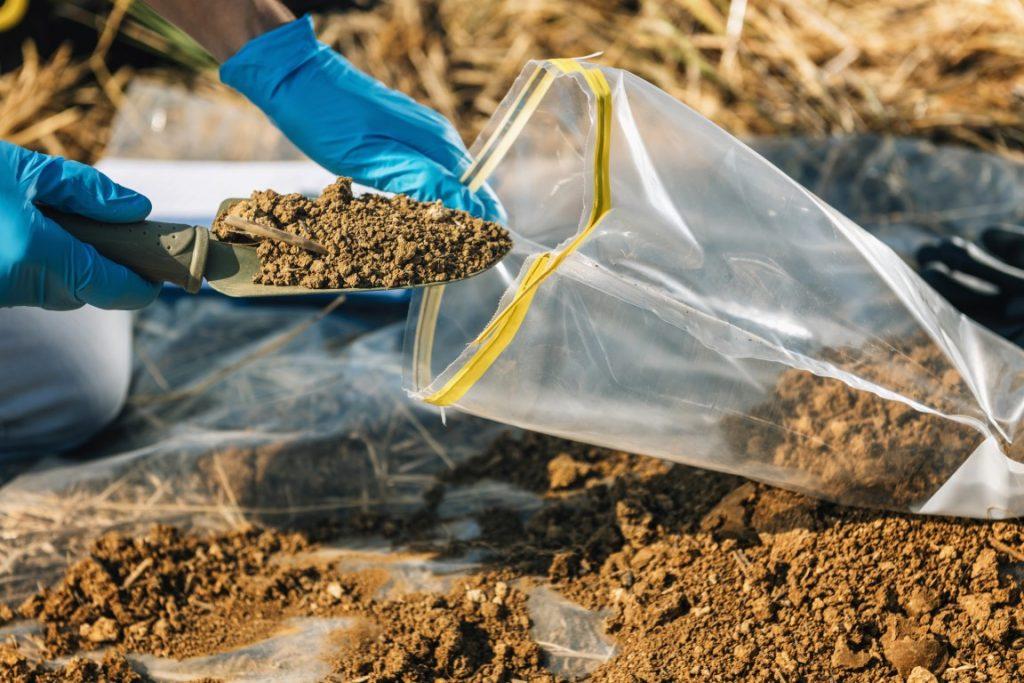 analisi del suolo